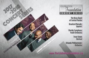 Celebration Foundation Concert Series brochure