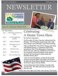 Celebration Foundation Thriving In Place Newsletters