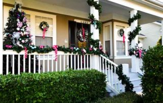 Holiday Home Tour porch