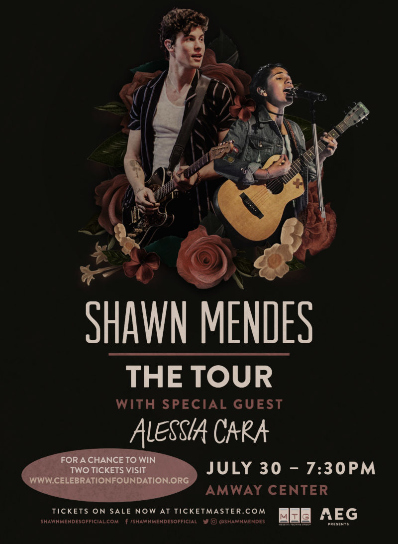 Shawn Mendes Alessia Cara Raffle - Celebration Foundation