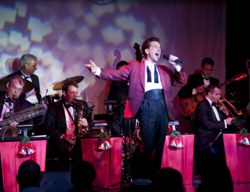 Michael Andrew and the Atomic Big Band Swing In to Celebration