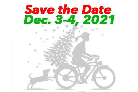 Winter Wonderland and Market Place logo Save the Date